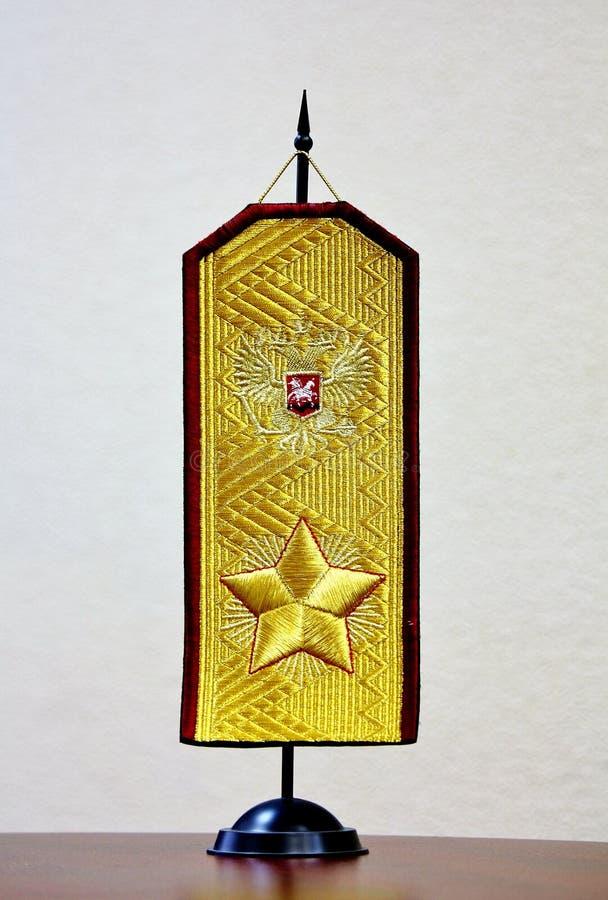 золото epaulettes стоковые фото