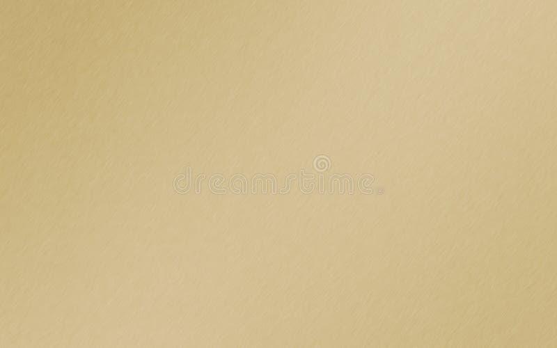Золото Matt, золотая предпосылка градиента металла стоковые изображения