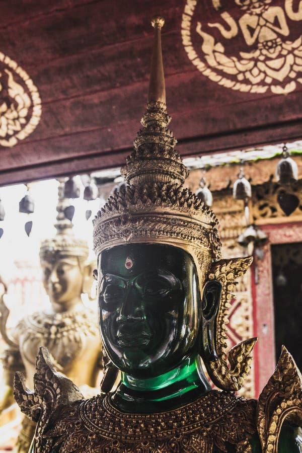 Золото Thailande Чиангмая Будды или стоковое изображение