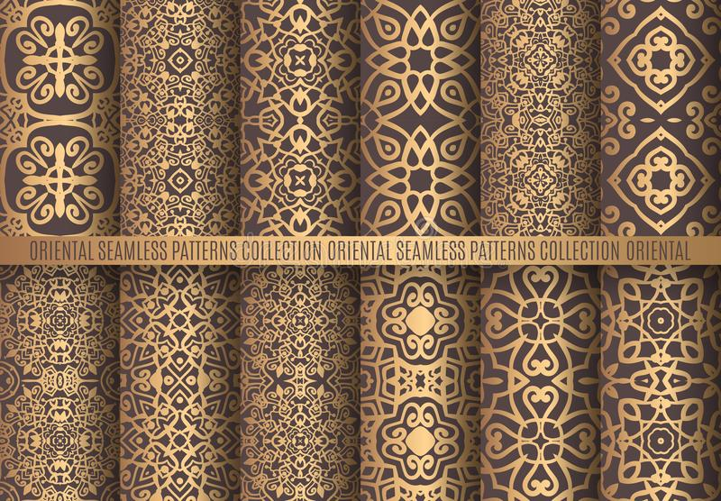 Золотые картины арабескы бесплатная иллюстрация