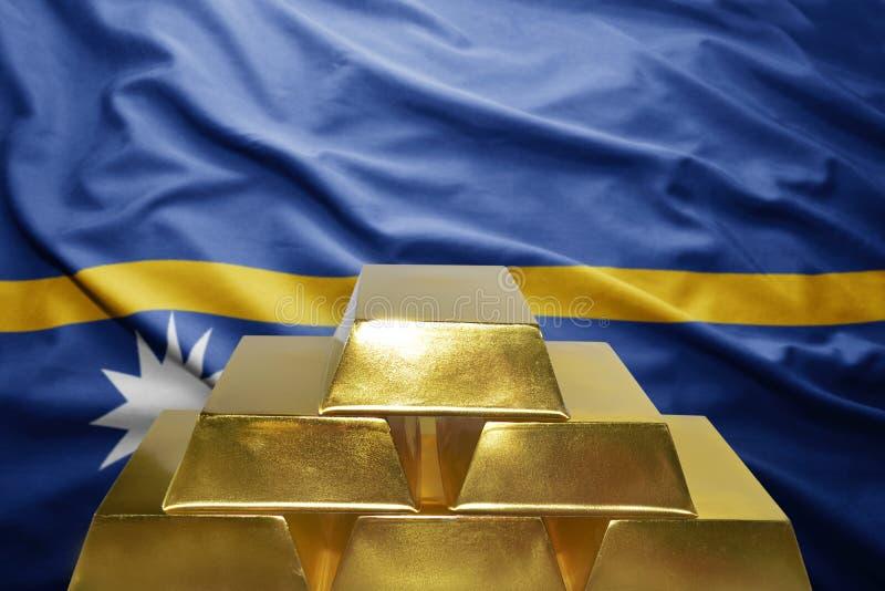 Золотые резервы Науру стоковое изображение rf
