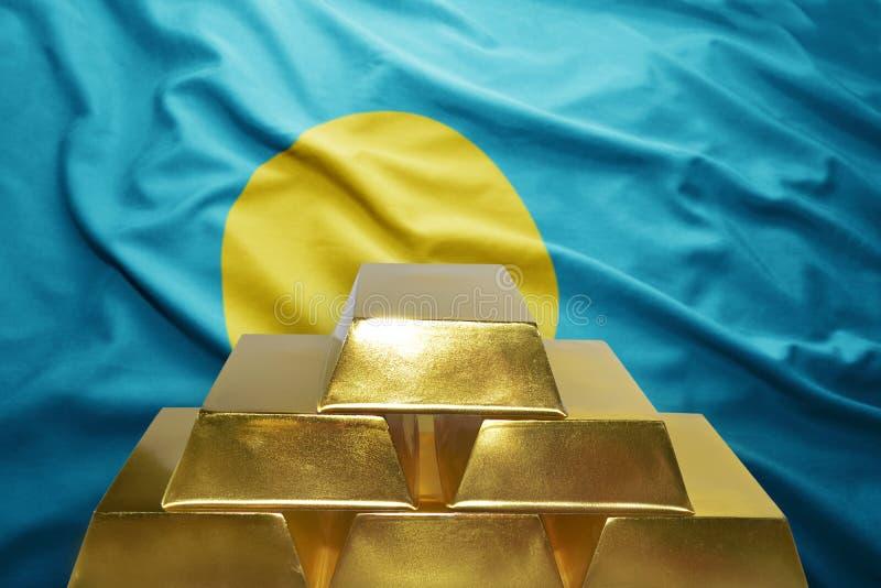 Золотые резервы Палау стоковое изображение rf