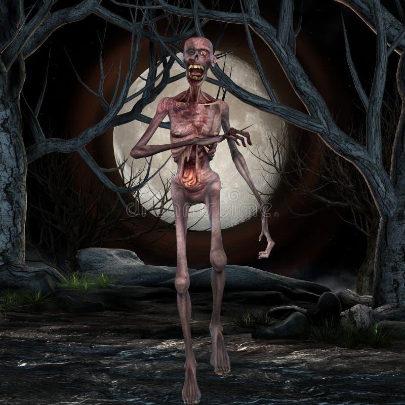 зомби места halloween бесплатная иллюстрация