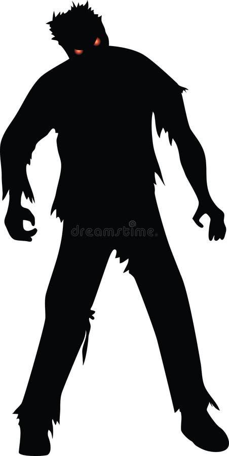 Зомби иллюстрация вектора