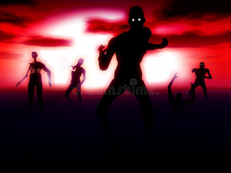 Зомби 41 бесплатная иллюстрация