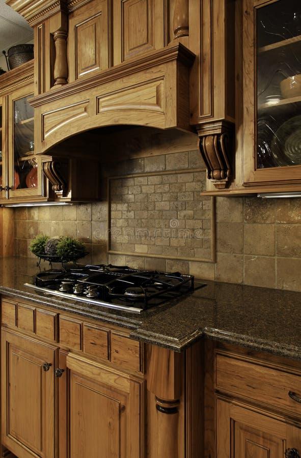 зона варя кухню роскошную стоковые фотографии rf