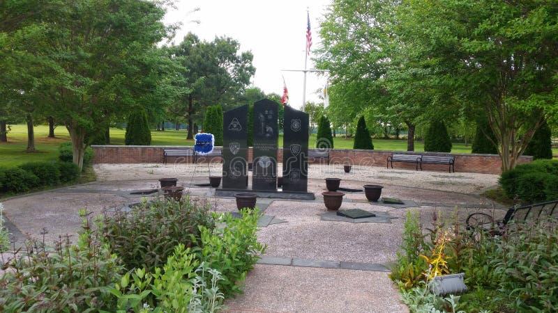 Зона ветерана мемориальная на парке 4H стоковые фото