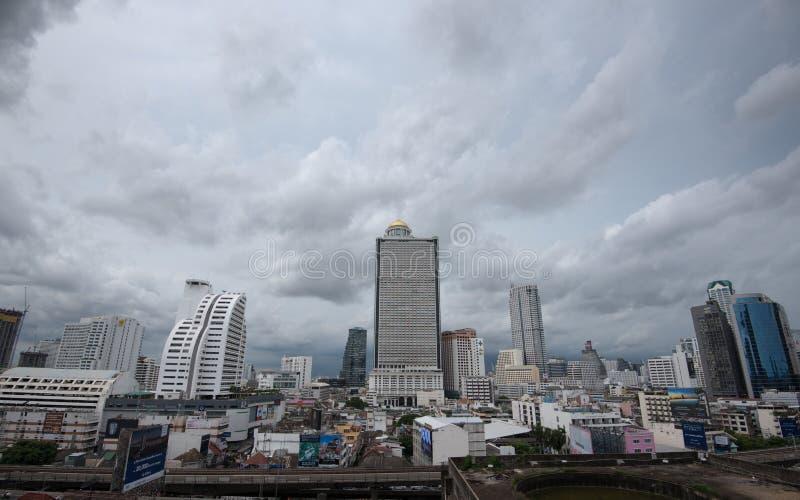 Зона дела в Бангкоке, Таиланде стоковые изображения