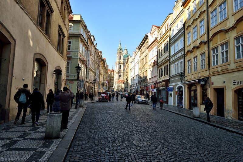 Зона замка Праги стоковая фотография rf