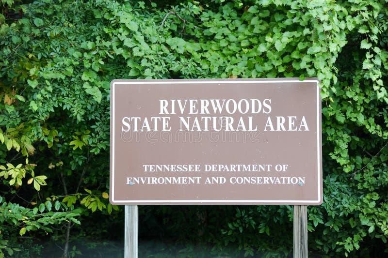 Зона положения Riverwood естественная, Germantown, TN стоковая фотография rf