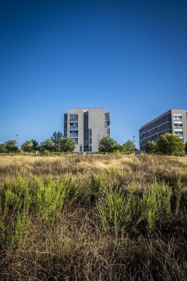 Зона резиденции в Sant Cugat del Valles в Барселоне стоковая фотография rf