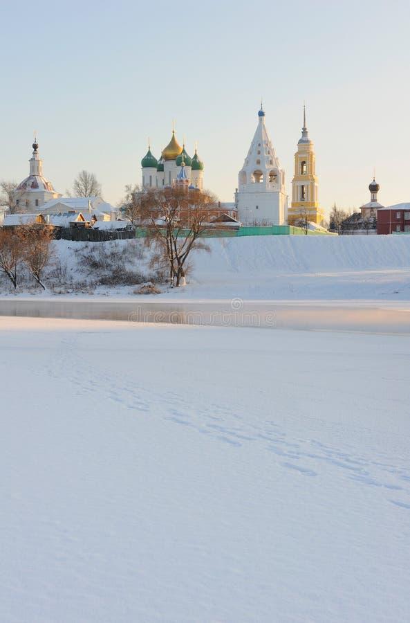 зона Россия kremlin moscow kolomna ансамбля стоковые фото
