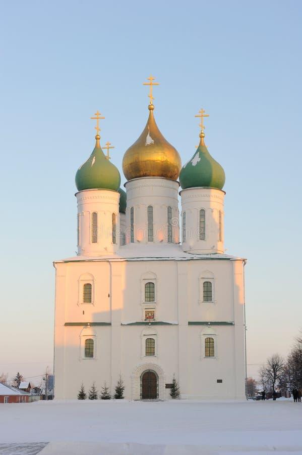 зона Россия kremlin moscow kolomna ансамбля стоковое изображение rf