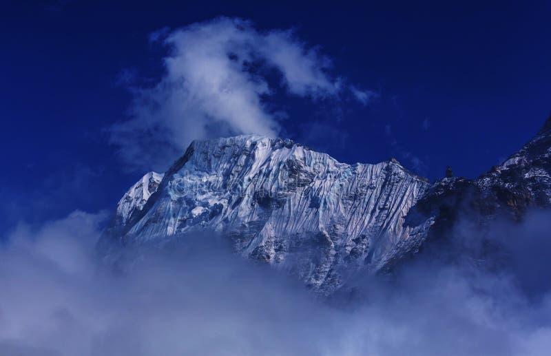 Зона Kanchenjunga стоковое изображение