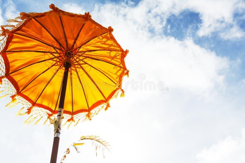 Зонтик на Бали стоковое изображение