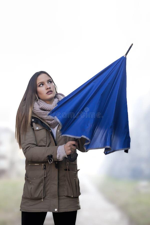 Зонтик отверстия стоковые изображения rf