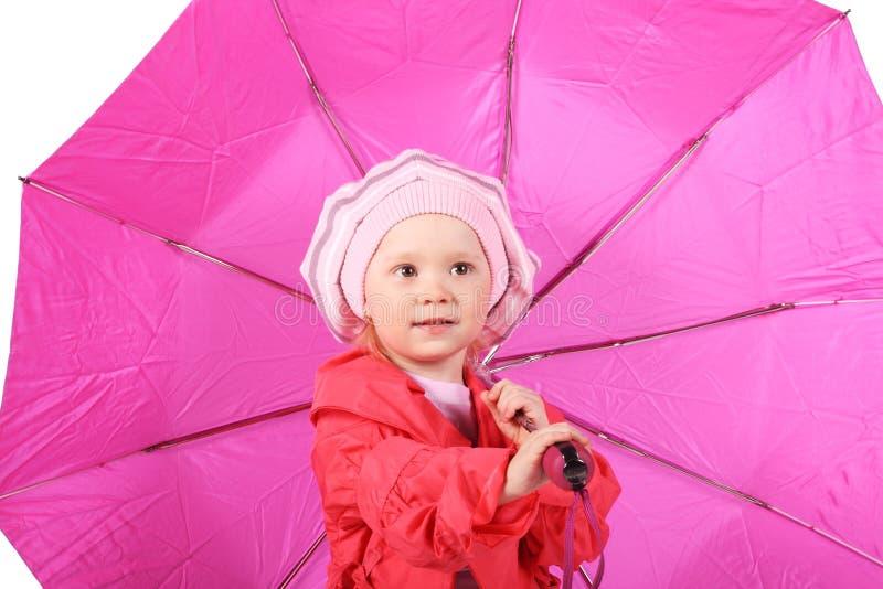 зонтик ребенка стоковое изображение