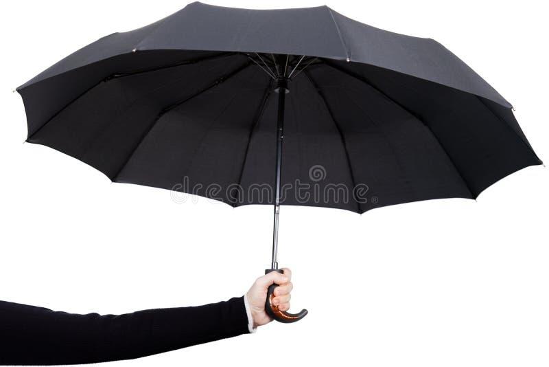 зонтик удерживания руки стоковые фото