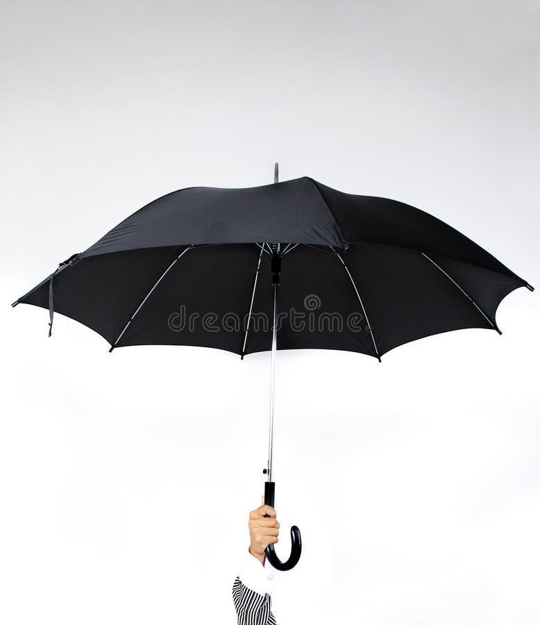 зонтик удерживания руки стоковое изображение rf