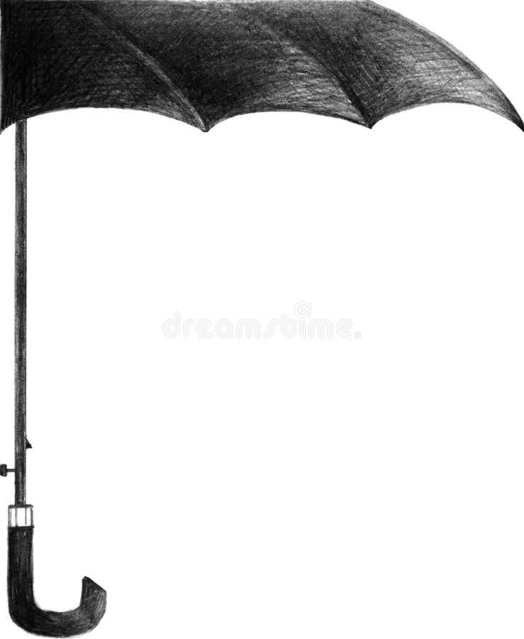 зонтик иллюстрация штока