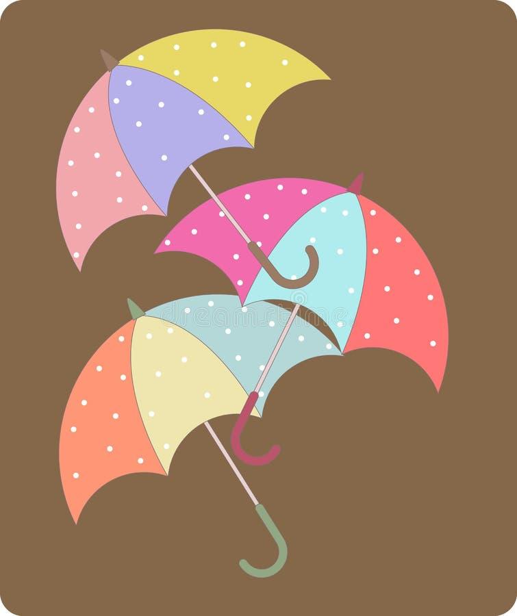 зонтик 3 бесплатная иллюстрация