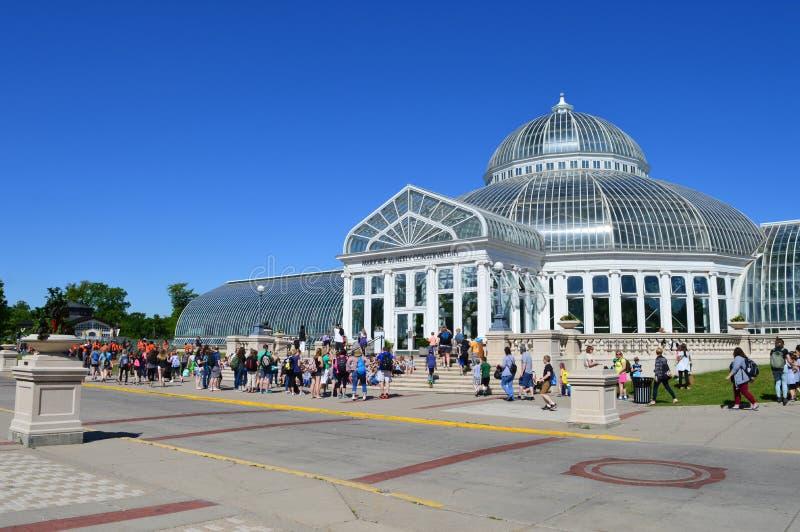 Зоопарк и консерватория Como стоковое фото