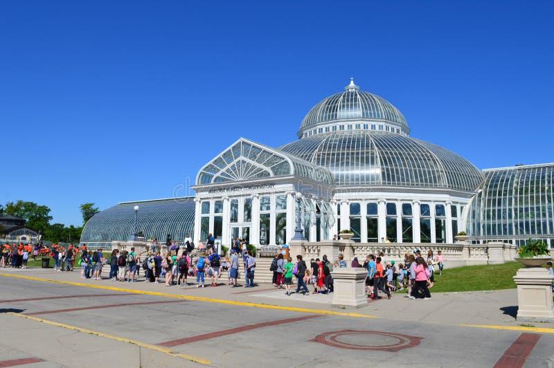 Зоопарк и консерватория Como стоковая фотография rf