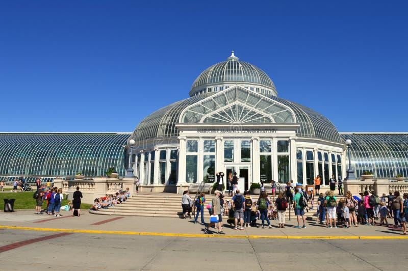 Зоопарк и консерватория Como стоковая фотография