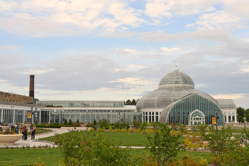Зоопарк и консерватория Como стоковое изображение