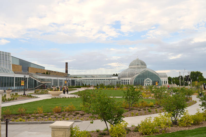 Зоопарк и консерватория Como стоковое фото rf