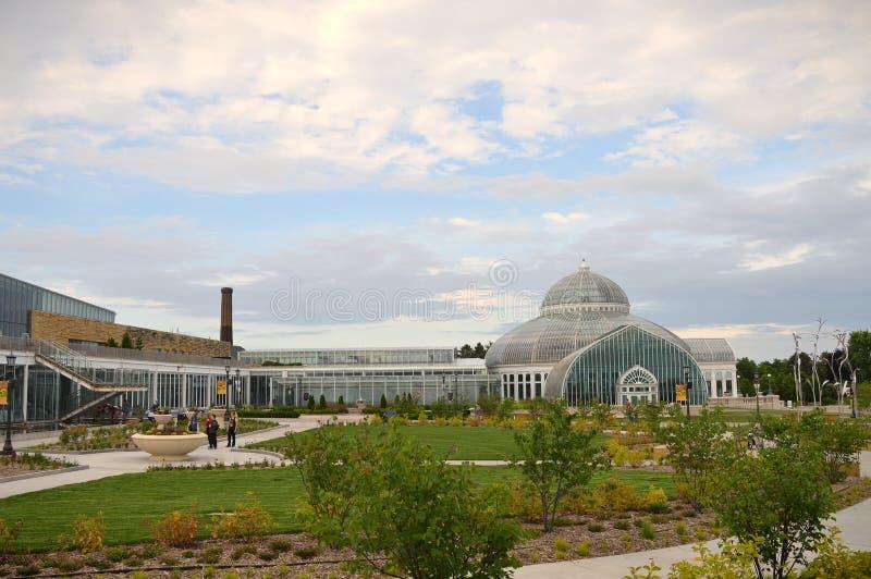 Зоопарк и консерватория Como стоковое изображение rf