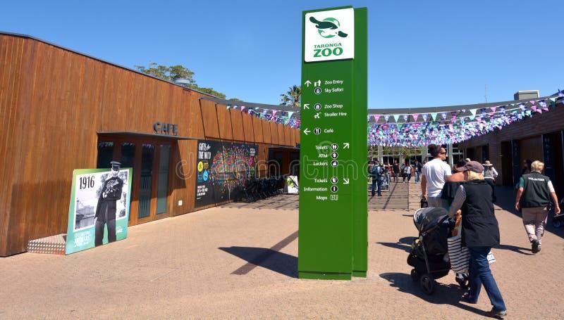 Зоопарк Сидней Новый Уэльс Австралия Taronga стоковые изображения rf