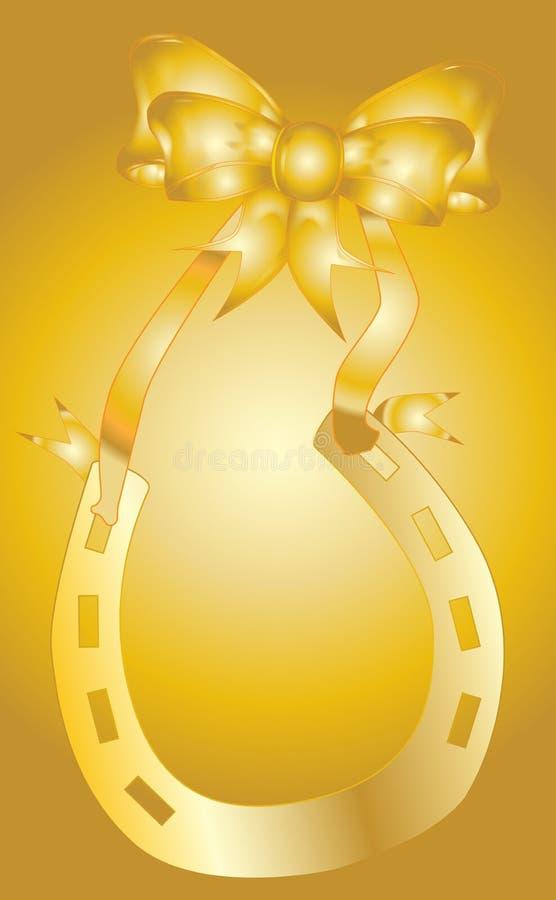 Золотая годовщина свадьбы бесплатная иллюстрация