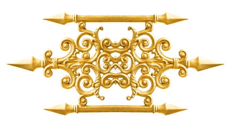 Золотая картина сплава стоковое изображение rf