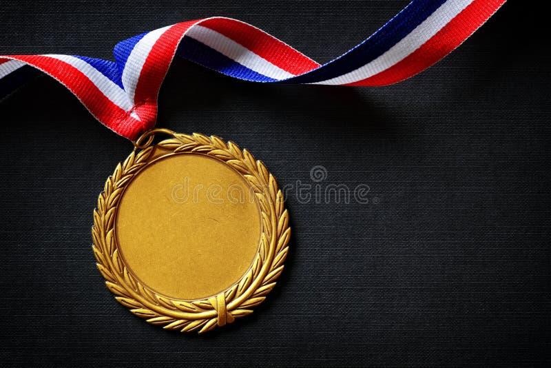 золотая медаль олимпийская стоковое фото