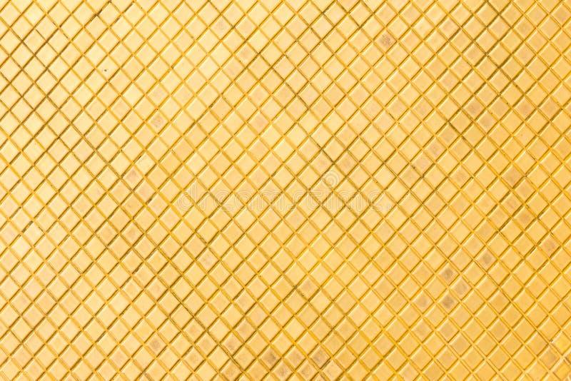 Золотая мозаика стоковое изображение rf