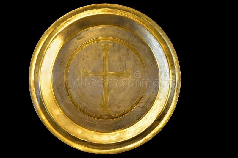Золотая посуда стоковая фотография rf