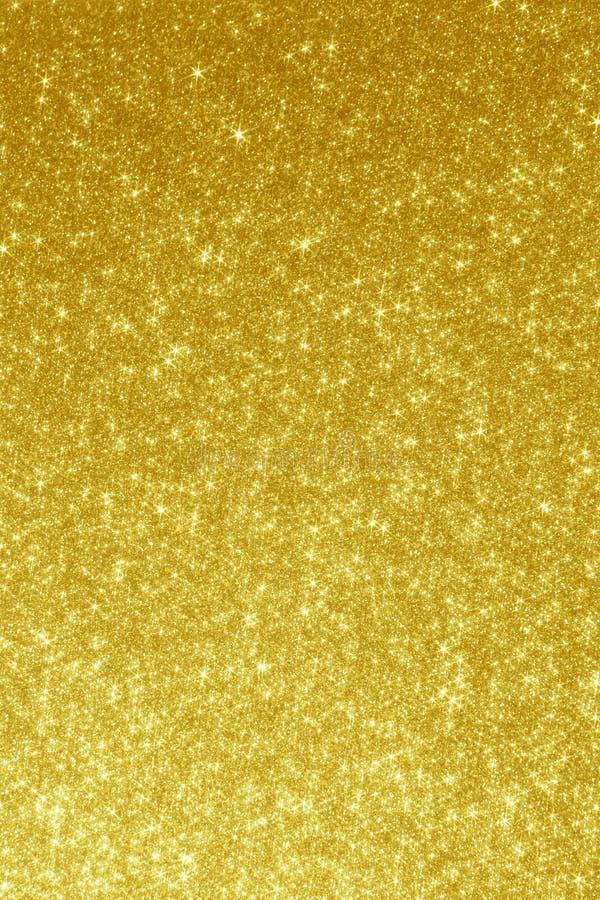 Золотая предпосылка - абстрактные фото запаса нерезкости стоковая фотография rf