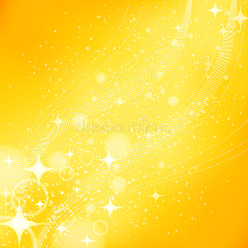 Золотая светлая предпосылка иллюстрация штока