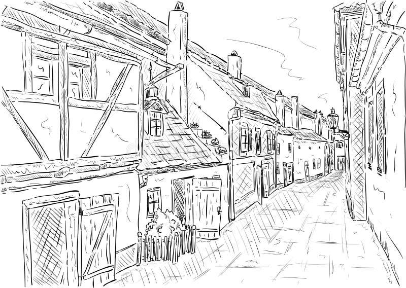 Золотая улица Стоковое Фото