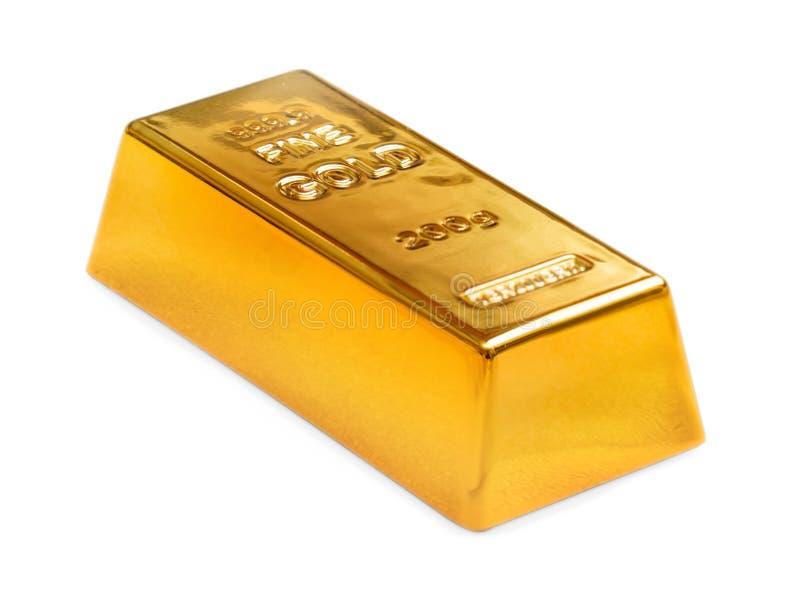 золотистый слиток стоковые фото