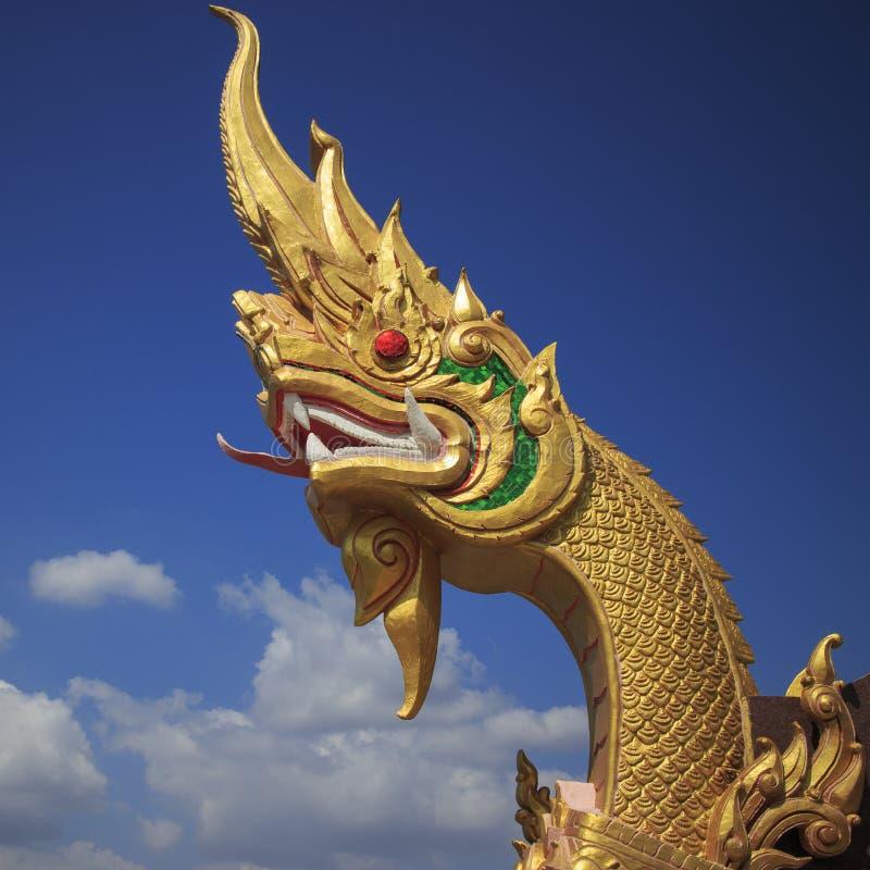 Золотистый naga стоковая фотография