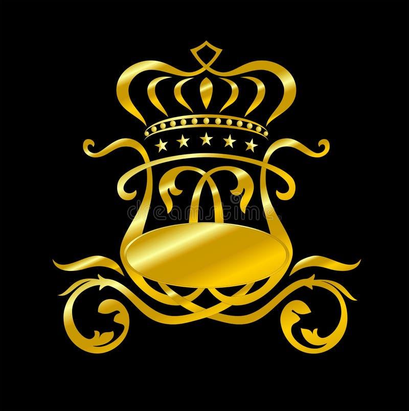 Золотое oach  Ñ иллюстрация штока
