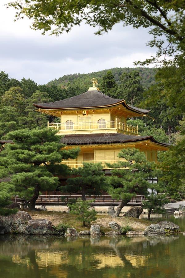 Золотой висок Киото Япония стоковые изображения