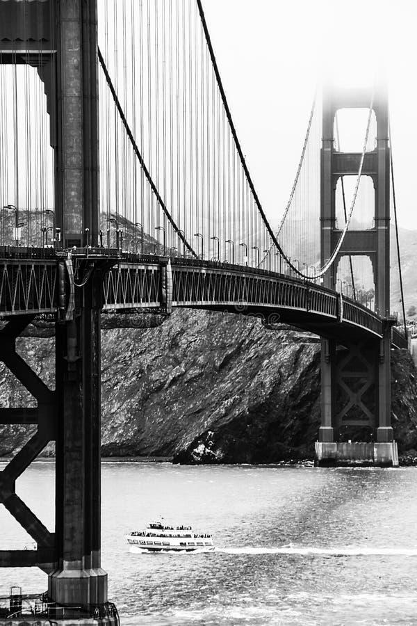 Золотой строб в черно-белом стоковые фотографии rf