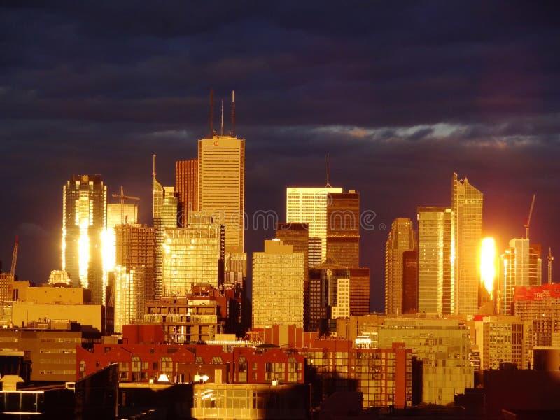 Золотой Торонто стоковая фотография rf