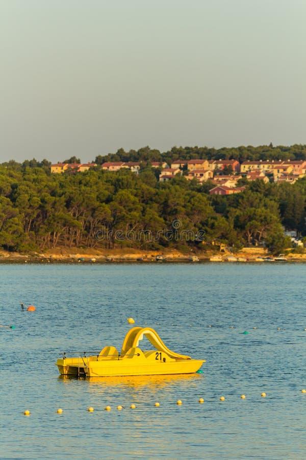 Золотой час на sunsrise стоковое изображение rf