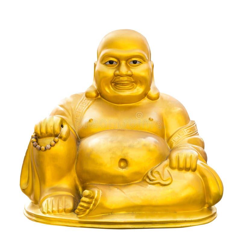 Золото Будда изолировало стоковое фото rf