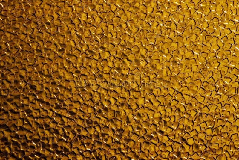 Золото текстуры, стекло стоковые фотографии rf