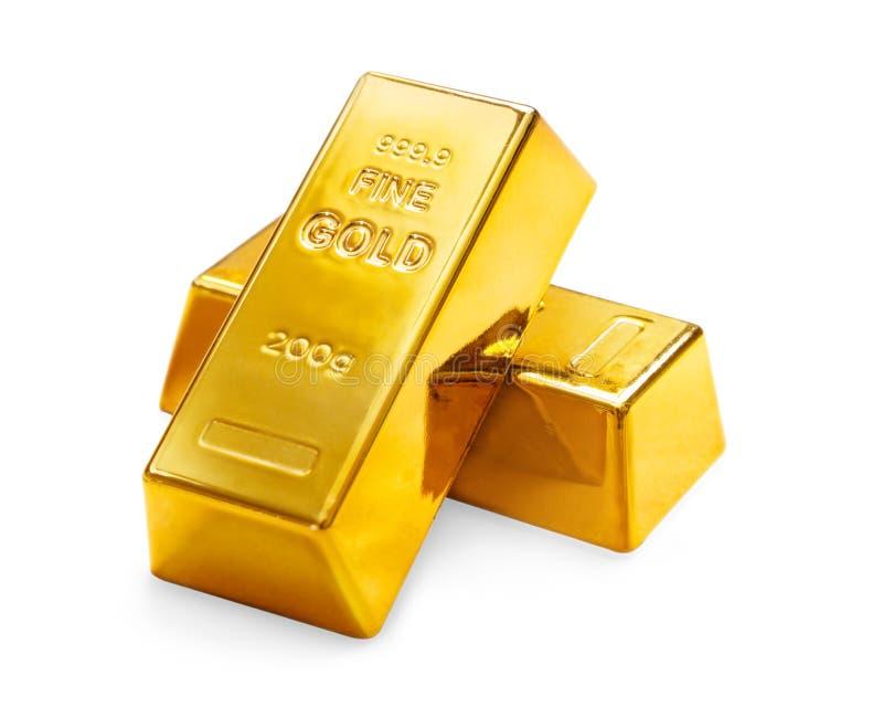 Золотые инготы стоковое фото